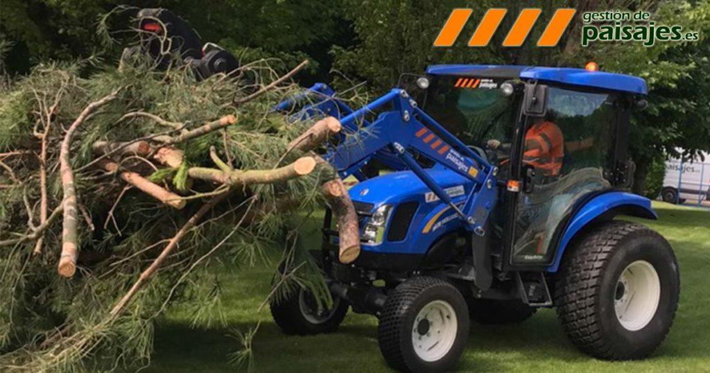 Renovamos nuestra maquinaria de jardinería con el mejor equipamiento del mercado